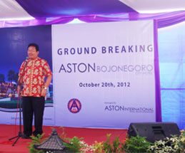 Speech by Mr. Drs. H. Suyoto, MSi Regent of Bojonegoro