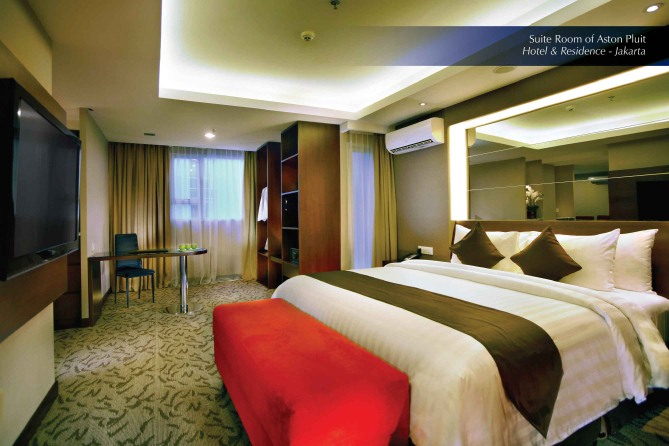 Suite Room of Aston Pluit Hotel & Residence